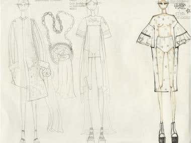 Hand Sketching and Fashion Illustration