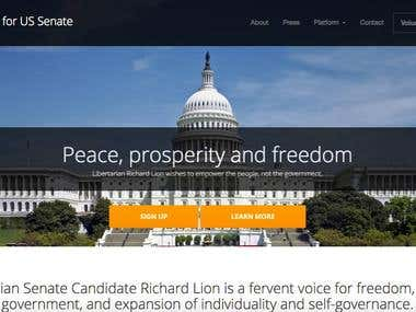 Richard Lion for US Senate