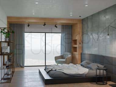 Interior 3d visualization