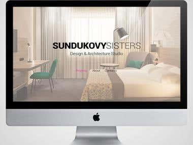 Website for design & architecture studio