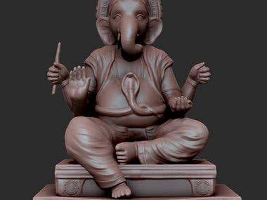 3d model ganesh gi