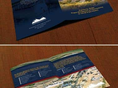 Oil and gas brochure design