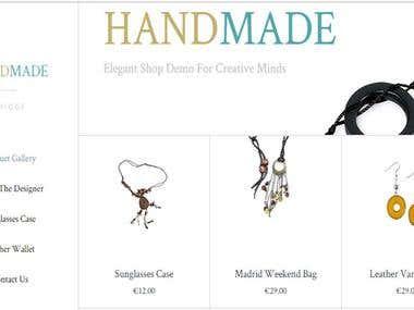 Tienda Virtual de Bisutería (Modelo) / Jewelry website