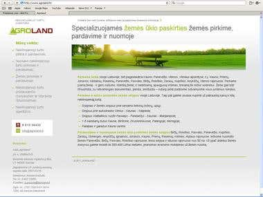 HTML/CSS code for www.agroland.lt dynamic adoption in width.