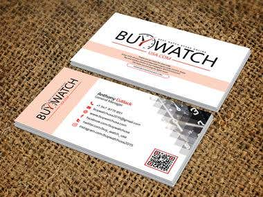 Modern Business Card for Buywatchusa