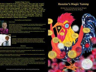 Front Cover Rooster's Magic Tummy