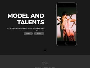 Models and Talents Search