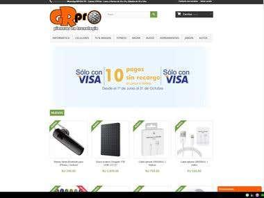 E-commerce GRPRO Uruguay