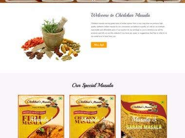 Chirlekar Masala Website