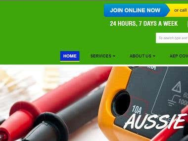 Website Content Writing For Aussie Electrical and Plumbing