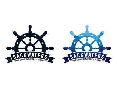 Backwaters Logo Design