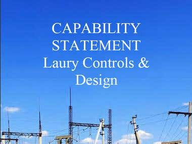 Capability Statement For Laury Controls and Designs