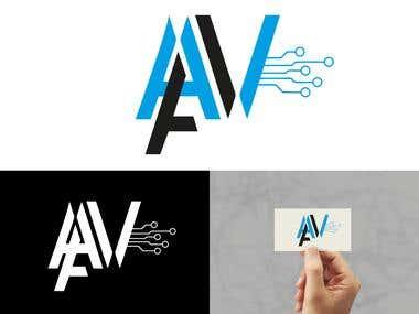 AAV Logo design