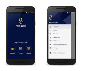 Phone Guard Android App