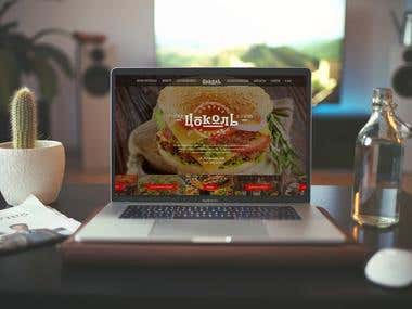 Website for Bar&Grill
