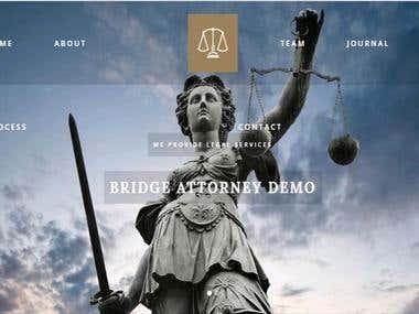 Páginas Web para Abogados /Web Pages for Lawyers