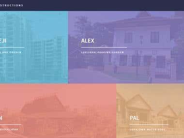 Ganpat Constructions - Landing Page