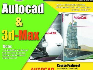 Autocad Brouchure design