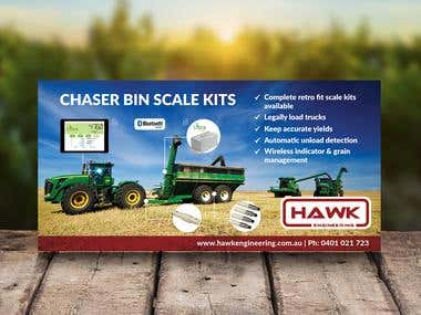 Magazine Ad Design for Hawk Engineering