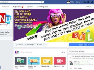 Coupondeals fb page