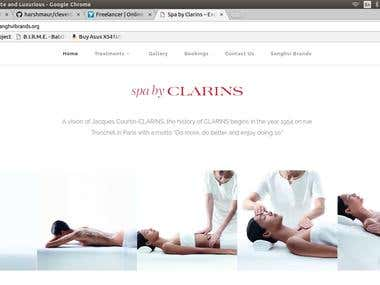 Spa By Clarins