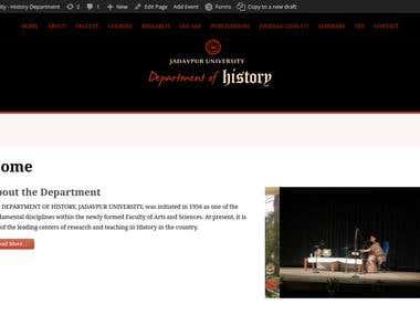 Jadavpur University - Department of History