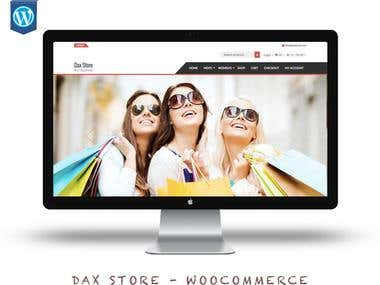 Dax Store E-Commerce
