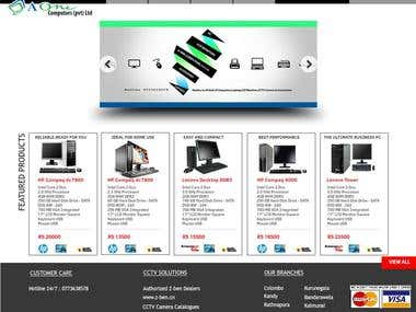A One Computers Web Site