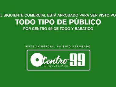 Tv Comercial - Centro 99