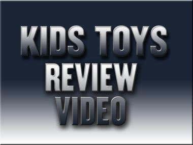 Youtube toys review video editing (links in description)