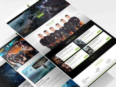 I Know Gaming - Web design