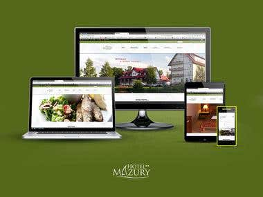 Hotel Mazury - brand identification