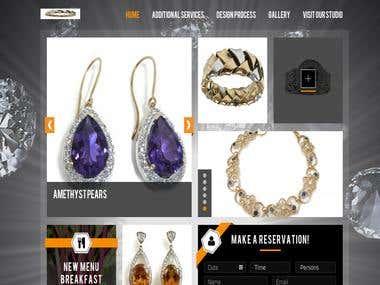Designer Jeweler Website