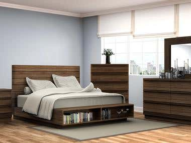 BEDROOM RENDERINGS