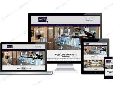 Interior Designing Company Profile | WordPress