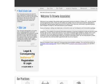 Browne Associates site
