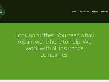 Automotive Hail Repair