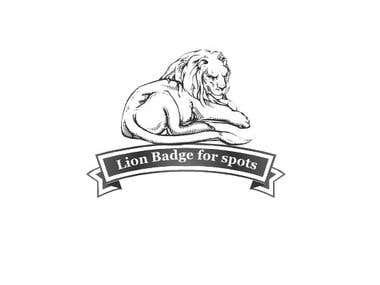 Lion Badge logo