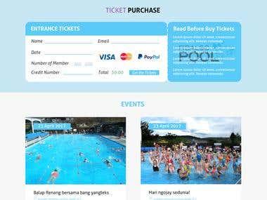 Pool website