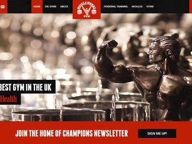 GYM Website
