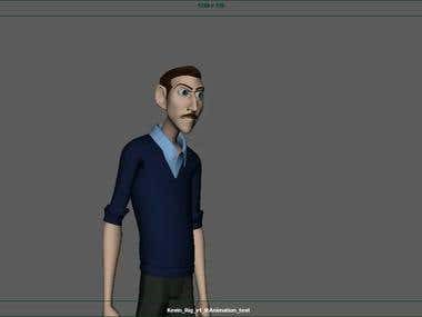 My 3D animation- Dialogs.
