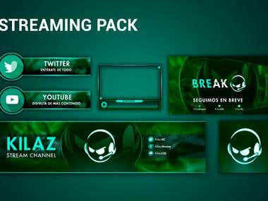 Streaming pack