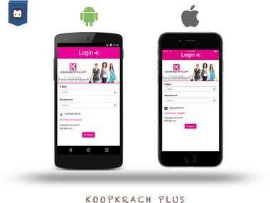 KoopKrach Phonegap/Cordova Based App