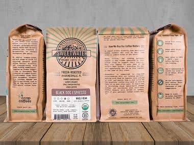 Coffee Company Branding and Packaging design