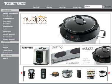 Multilingual cakephp web store
