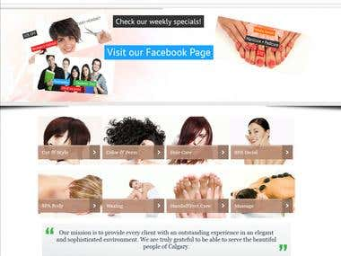SEO & Internet Marketing for Salon services