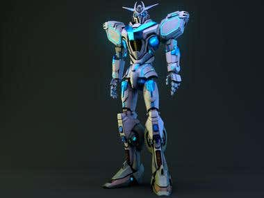 Robot render.