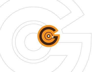 GCO - Monogram minimalist flat logo