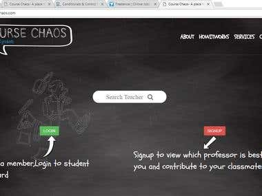 CourseChaos.com