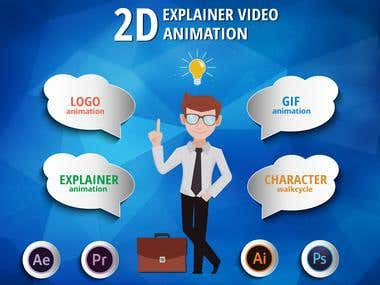 Experienced in 2D Animation and Video Creation